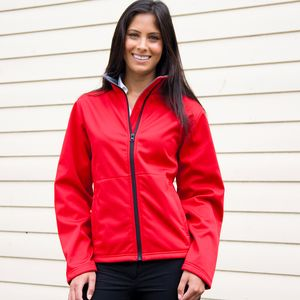 R209F Result Giacca donna in softshell antivento e impermeabile Thumbnail